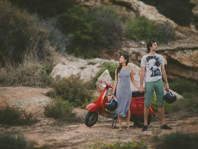 La boda de Alejandro y Cristina en Cartagena, Murcia 13