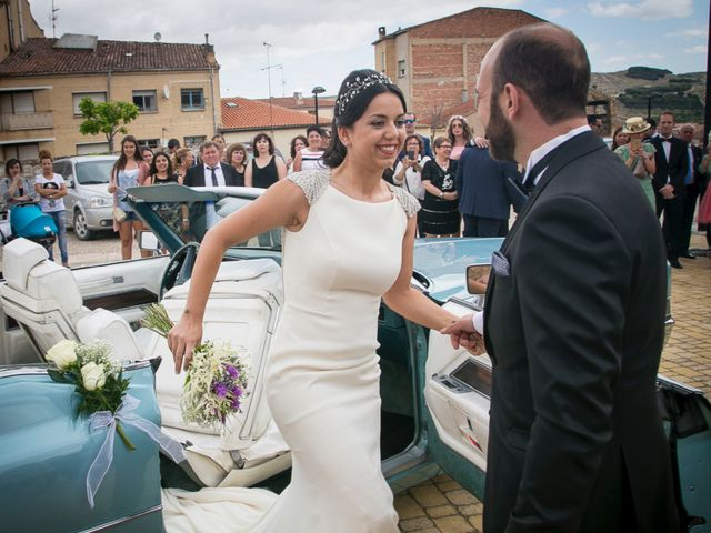 La boda de Jorge y Laura en San Adrian, León 18