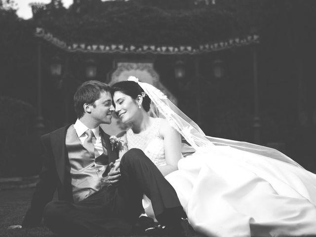 La boda de Damian y Elena en Galapagar, Madrid 1