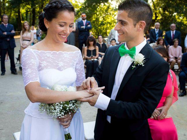 La boda de Carmen y Duvi
