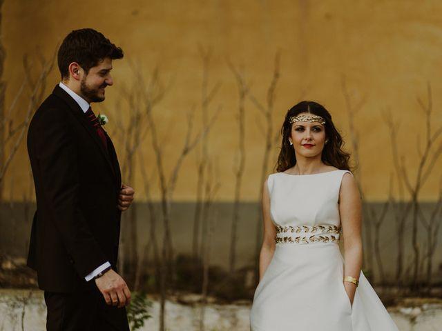 La boda de Oscar y Virginia en Pedro Muñoz, Cáceres 13