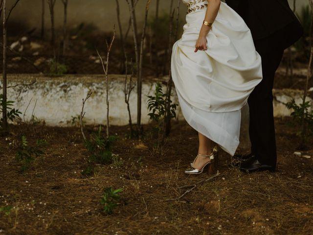 La boda de Oscar y Virginia en Pedro Muñoz, Cáceres 14