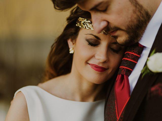 La boda de Oscar y Virginia en Pedro Muñoz, Cáceres 15