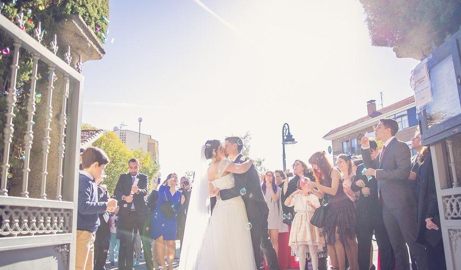 La boda de Diego  y María  en Moralzarzal, Madrid