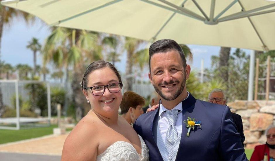 La boda de Arantxa y Carlos en La Pineda, Tarragona