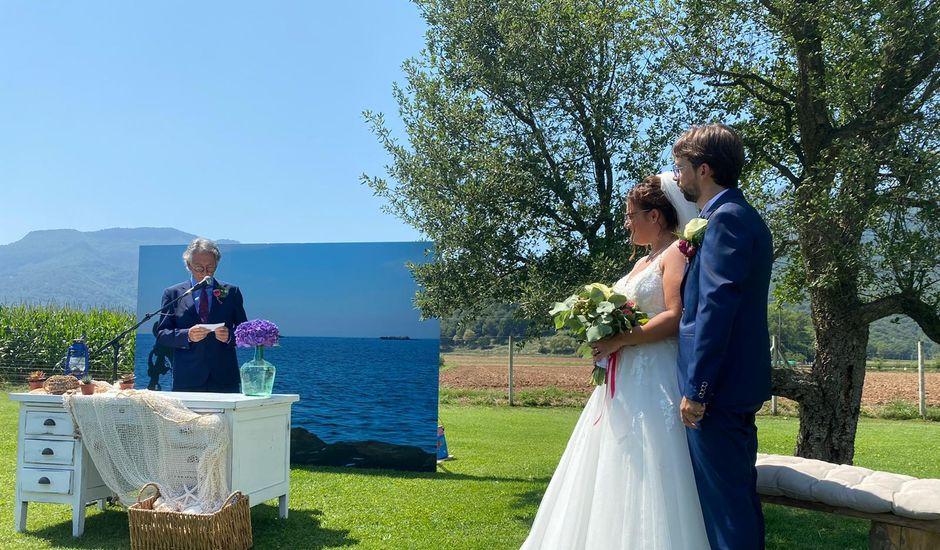La boda de Adolfo y Ingrid en Sant Privat D'en Bas, Girona