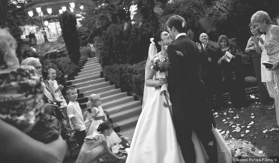 La boda de Damian y Elena en Galapagar, Madrid