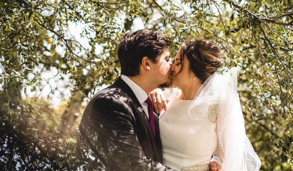 La boda de David y Estefania en Algamitas, Sevilla