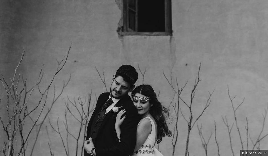 La boda de Oscar y Virginia en Pedro Muñoz, Cáceres