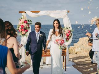 La boda de Alba y Iñigo