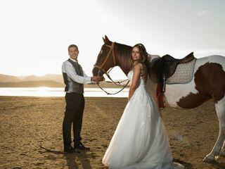 La boda de Luz Maria y David