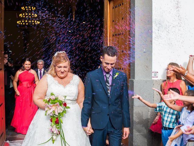 La boda de Josué y Desirée  en Firgas, Las Palmas 1