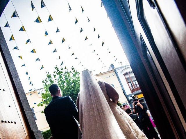 La boda de Josué y Desirée  en Firgas, Las Palmas 6