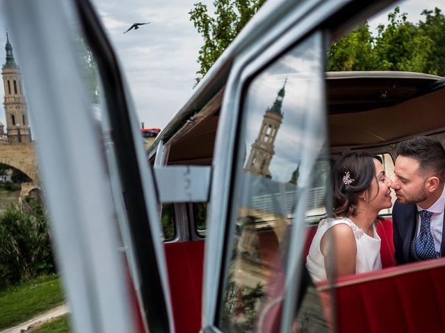La boda de Urko y Silvia en Zaragoza, Zaragoza 1