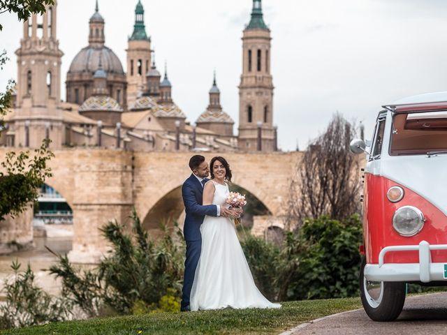 La boda de Urko y Silvia en Zaragoza, Zaragoza 20