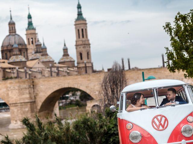 La boda de Urko y Silvia en Zaragoza, Zaragoza 23