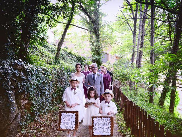 La boda de Luis y Fátima en Baños De Montemayor, Cáceres 35