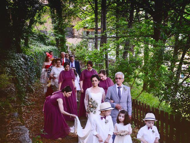 La boda de Luis y Fátima en Baños De Montemayor, Cáceres 36