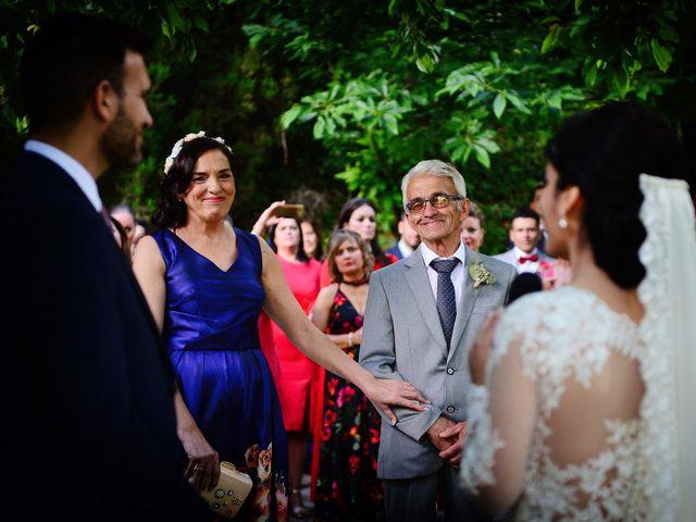 La boda de Luis y Fátima en Baños De Montemayor, Cáceres 43