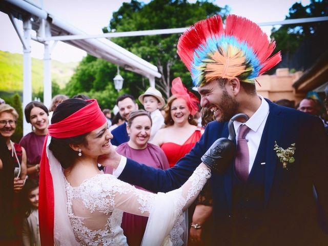 La boda de Luis y Fátima en Baños De Montemayor, Cáceres 54