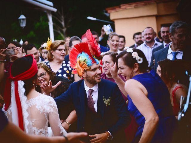 La boda de Luis y Fátima en Baños De Montemayor, Cáceres 55