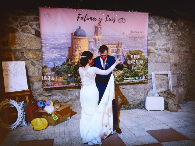 La boda de Luis y Fátima en Baños De Montemayor, Cáceres 64