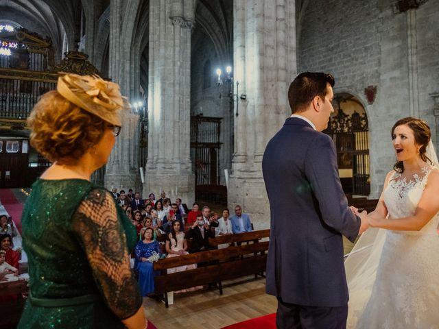 La boda de David y Tamara en Valoria La Buena, Valladolid 21