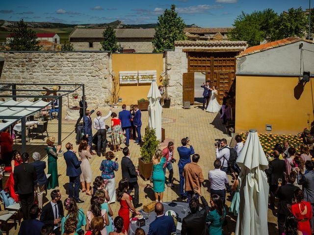 La boda de David y Tamara en Valoria La Buena, Valladolid 29