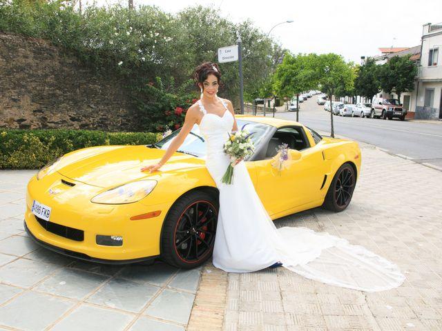 La boda de Elena y Cayetano en Valverde Del Camino, Huelva 16
