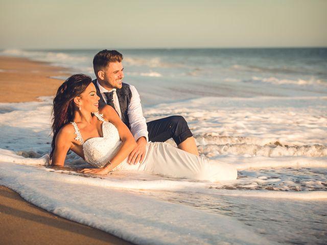 La boda de Elena y Cayetano en Valverde Del Camino, Huelva 44
