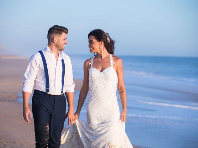 La boda de Elena y Cayetano en Valverde Del Camino, Huelva 45