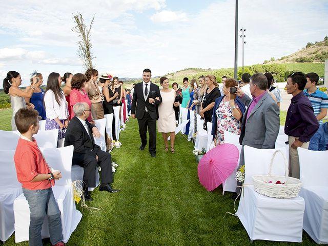 La boda de David y Verónica en Castrillo De Duero, Valladolid 8