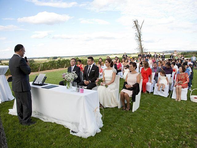 La boda de David y Verónica en Castrillo De Duero, Valladolid 11