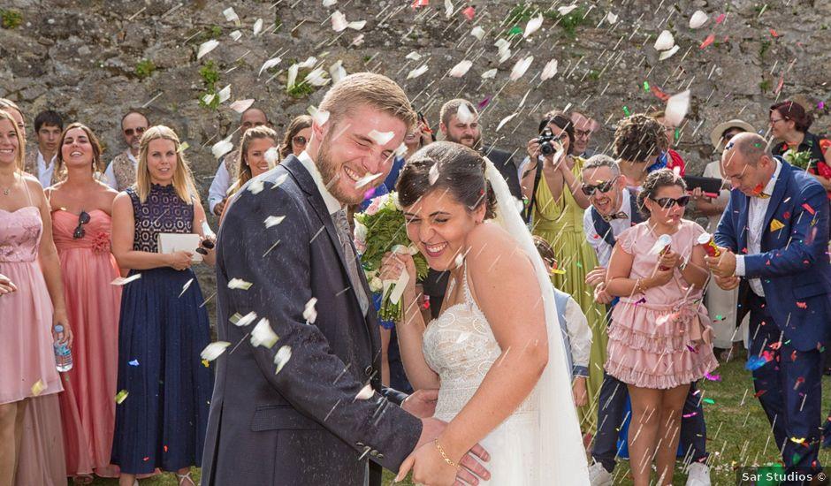 La boda de Severin y Adriana en Fisterra (Santa Maria), A Coruña
