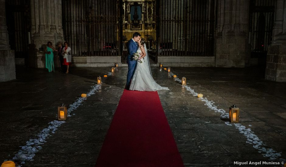 La boda de David y Tamara en Valoria La Buena, Valladolid