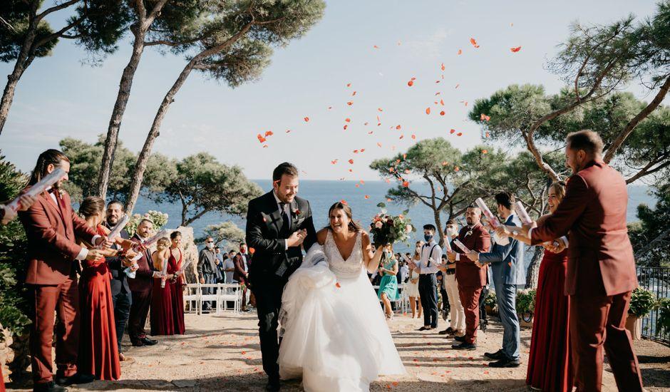 La boda de Xavi y Laia en Blanes, Girona