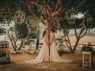 La boda de Lucia y Arantxa