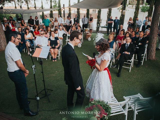 La boda de Dani  y Lydia  en Murcia, Murcia 53