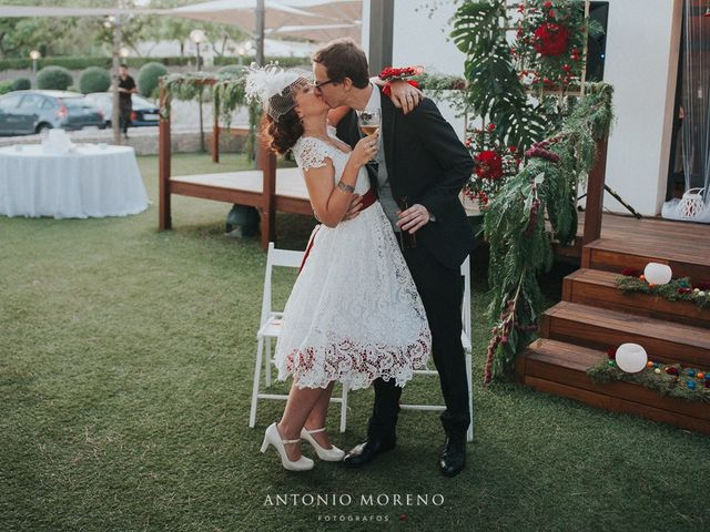 La boda de Dani  y Lydia  en Murcia, Murcia 61