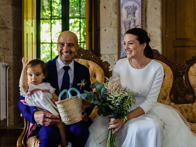 La boda de Paula y Yago en Celanova, Orense 18
