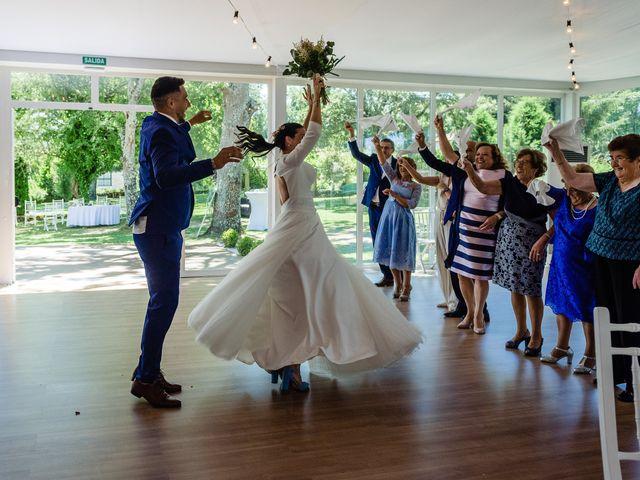 La boda de Paula y Yago en Celanova, Orense 42
