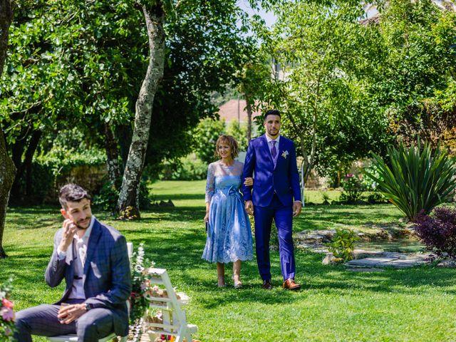 La boda de Paula y Yago en Celanova, Orense 78