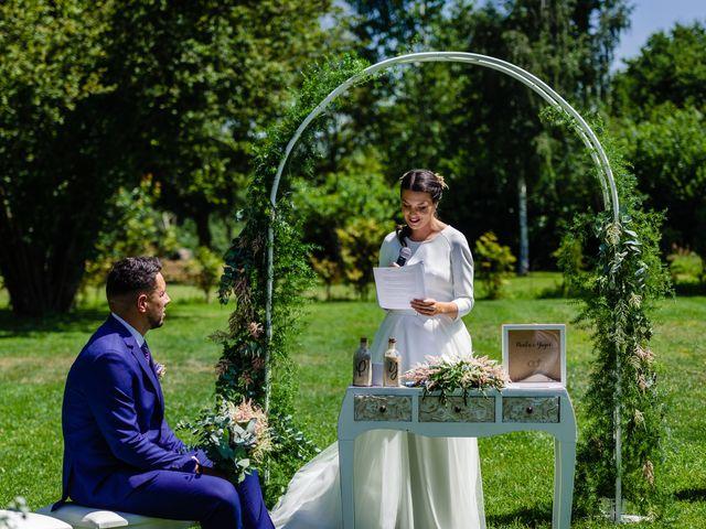 La boda de Paula y Yago en Celanova, Orense 85