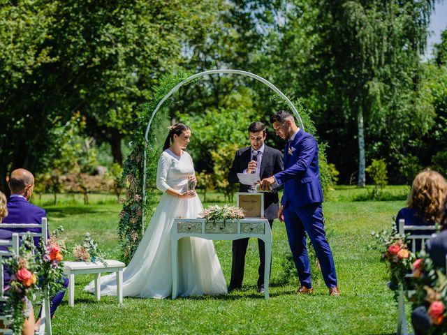 La boda de Paula y Yago en Celanova, Orense 90