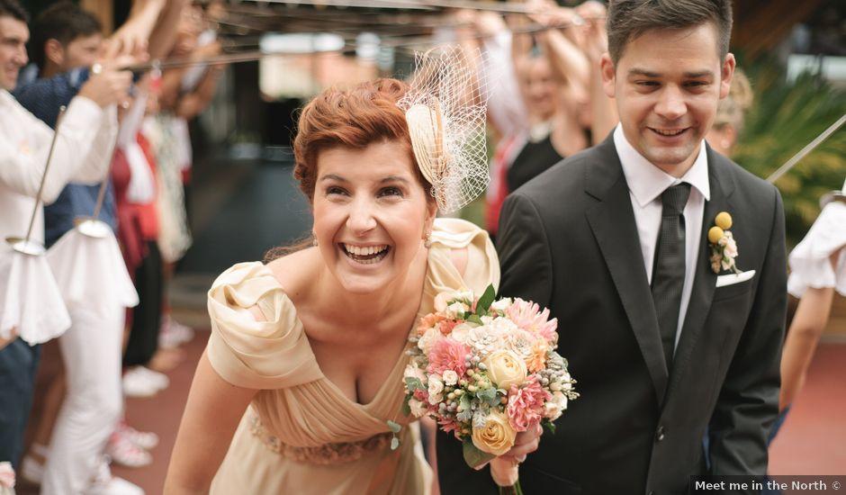 La boda de Joseba y Aloña en Itziar, Guipúzcoa