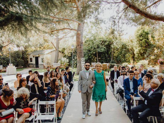 La boda de Alvaro y Silvia en Madrid, Madrid 86