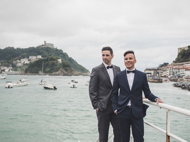 La boda de Raul y David en Donostia-San Sebastián, Guipúzcoa 2