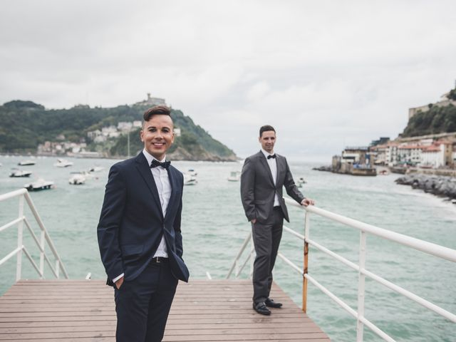 La boda de Raul y David en Donostia-San Sebastián, Guipúzcoa 3