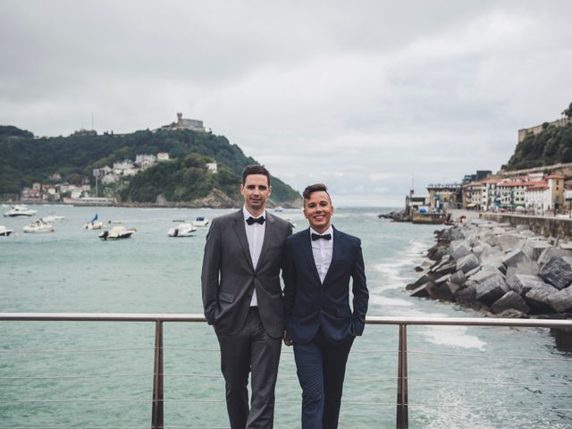 La boda de Raul y David en Donostia-San Sebastián, Guipúzcoa 5