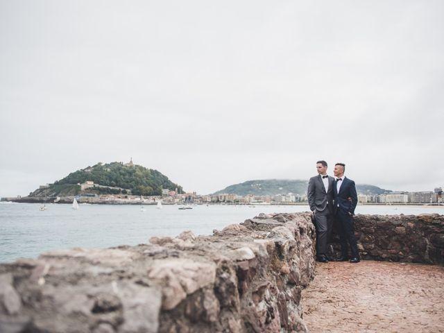 La boda de Raul y David en Donostia-San Sebastián, Guipúzcoa 11